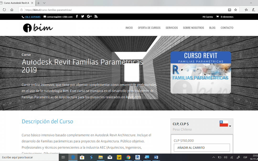 Nuevo curso – Familias Paramétricas